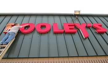 Pooleys Sign